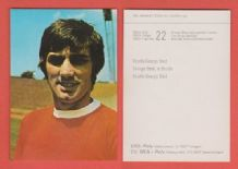 Manchester United George Best Northern Ireland 22